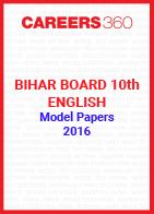 Bihar Board 10th English Model Papers 2016