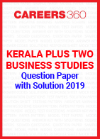 Kerala Plus Two Business Studies Question Paper with Solution 2019