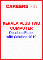 Kerala Plus Two Computer Science Question Paper with Solution 2019