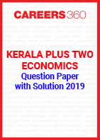Kerala Plus Two Economics Question Paper with Solution 2019