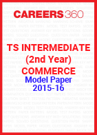 TS Intermediate (2nd year) Commerce Model Paper 2015-16