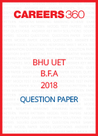 BHU UET 2018 B.F.A Question Paper