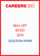 BHU UET 2018 B.P.ED Question Paper