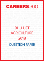 BHU UET 2018 Agriculture Question Paper