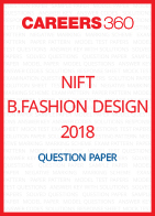 NIFT B.Fashion Design 2018 Question Paper
