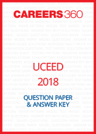UCEED 2018 Question Paper and Answer Key