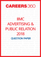 IIMC Advertising and Public Relations Question Paper 2018