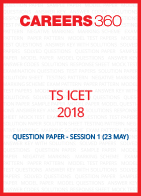 TS ICET 2018 Question Paper May 23 Shift 1
