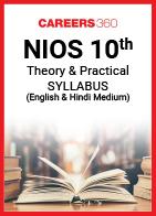 NIOS Class 10 Theory and Practical Syllabus