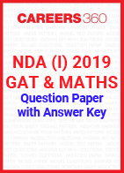 NDA (I) 2019 GAT & Mathematics Question Paper with Answer Key