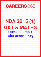 NDA 2015 1 (GAT & Maths) Question Paper & Answer Key