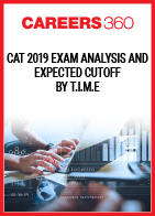 CAT 2019 Exam Analysis and Expected Cutoff by T.I.M.E