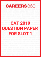 CAT 2019 Question Paper for Slot 1