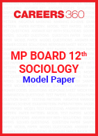 MP Board 12th Sociology Model Paper