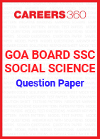 Goa Board SSC Question Paper Social Science