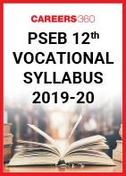 PSEB 12th Vocational Syllabus 2019-20
