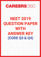 NEET 2019 Question Paper with Answer Key (Code Q3, Q4)