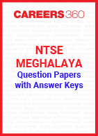 Previous Years NTSE Meghalaya Question Papers with Answer Keys
