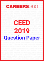 CEED Question Paper 2019