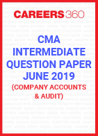 CMA Intermediate Question Paper June 2019 Company Accounts and Audit