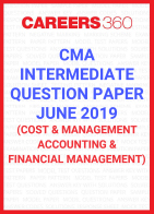 CMA Intermediate Question Paper June 2019 Cost and Management Accounting and Financial Management