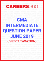 CMA Intermediate Question Paper June 2019 Direct Taxation