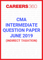 CMA Intermediate Question Paper June 2019 Indirect Taxation