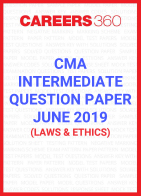 CMA Intermediate Question Paper June 2019 Laws and Ethics