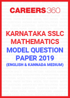 Karnataka SSLC Mathematics Model Paper 2019