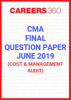 CMA Final Question Paper June 2019 Cost and Management Audit