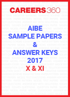 AIBE Sample Paper and Answer Keys 2017 - X & XI