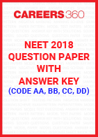 NEET 2018 Question Paper with Answer Key (Code AA, BB, CC, DD)
