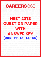 NEET 2018 Question Paper with Answer Key (Code PP, QQ, RR, SS)