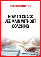 How to crack JEE Main without coaching?