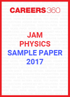JAM Physics Sample Paper 2017