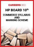 HP Board 10th Commerce Syllabus & Marking Scheme 2020