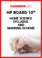 HP Board 10th Home Science Syllabus & Marking Scheme 2020