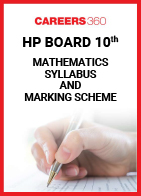 HP Board 10th Mathematics Syllabus & Marking Scheme 2020