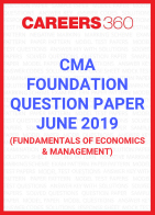 CMA Foundation Question Paper June 2019- Fundamentals of Economics and Management
