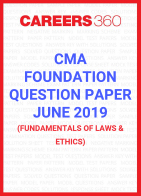 CMA Foundation Question Paper June 2019- Fundamentals of Laws and Ethics