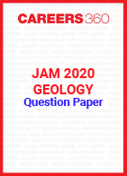 JAM 2020 Geology Question Paper
