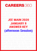JEE Main 2020 Paper 1 Official Answer Key (Afternoon Session) - January 8