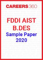 FDDI AIST B.Des Sample Paper 2020