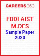 FDDI AIST M.Des Sample Paper 2020