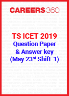 TS ICET 2019 question paper-Shift 1
