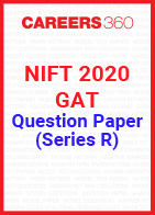 NIFT 2020 GAT Question Paper - Series R
