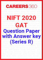 NIFT 2020 Question Paper with Official Answer Key