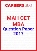 MAH CET MBA Question Paper 2017