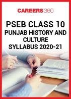 PSEB Class 10 Punjab History and Culture Syllabus