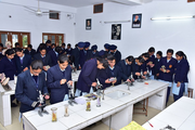 Guru Nanak Model Senior Secondary School-Biology Lab